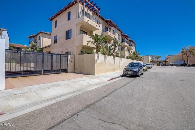 Welcome to The Cannery!!  This well maintained, two story unit is located on the second level and has peak-a-boo ocean/island views from the primary suite.  The Tuscany style complex is located in close proximity to downtown Ventura shopping/restaurants, San Buenaventura Mission and the beach with easy access to 101 freeway.  This unit features both bedrooms on the second level with the main living area having an open floorplan.  The kitchen has stainless steel appliances and plenty of natural light due to it being a South facing unit. Turnkey and ready to go. Don't miss out!