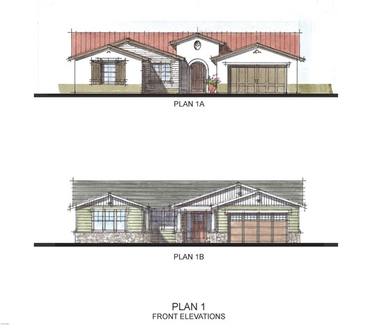 Plan 1A and 1B Front Elevations cropped