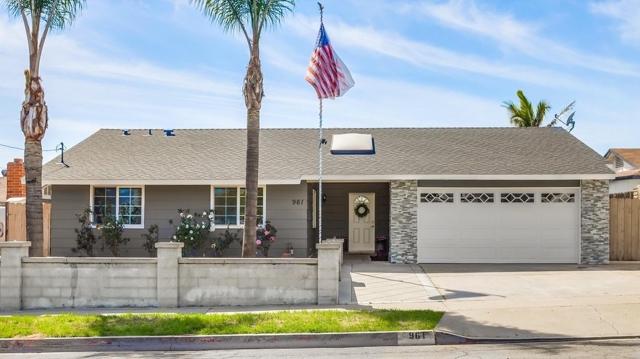 961 N Rose Street, Escondido, CA 92027
