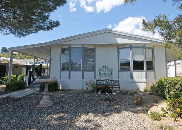 35109 Highway 79 UNIT #192 / SPACE #193, Warner Springs, CA 92086