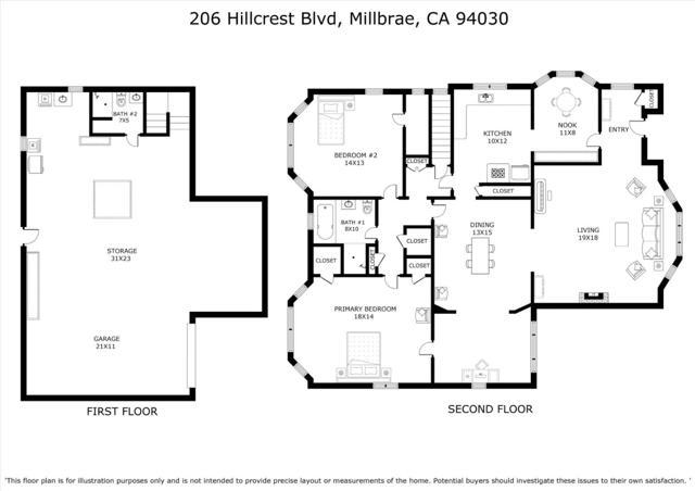 27. 206 Hillcrest Boulevard Millbrae, CA 94030