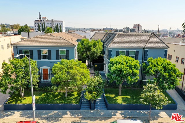 320 N New Hampshire Avenue & 324 N New Hampshire Avenue is an attractive 12-unit investment opportunity located in East Hollywood, on the border of Silver Lake and Koreatown. The offering consists of two properties on two separate lots, both built in 1940. 320 & 324 N New Hampshire is a modern and intimate living community in the vibrant and trendy East Hollywood that combines modern aesthetics with a classic French Normandy charm rarely found in Los Angeles.  This recently renovated residential community offers 12 spacious residences with a serene, gated courtyard and plentiful outdoor living space. 10 of the 12 units have seen a full gut-level, down-to-the-studs renovation with all-new kitchens with new stainless-steel appliances, new washer and dryer, open floor plans, NEW dual-pane windows allowing plenty of natural light, and other handcrafted details. 3240 & 324 North New Hampshire provides the best variation of modern and outdoor living in a vibrant, and walkable neighborhood.