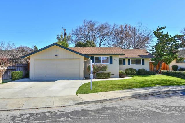 205 Bret Harte Court, Santa Clara, CA 95050