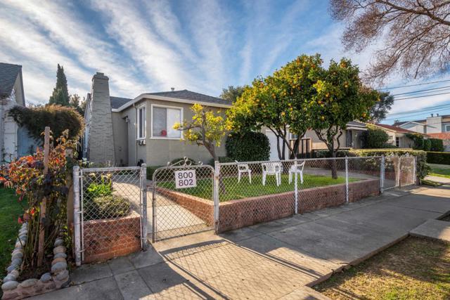 800 Idaho Street, San Mateo, CA 94402