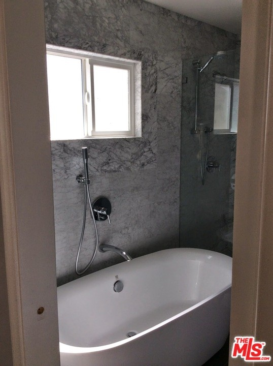 Remodeled Main stand alone tub
