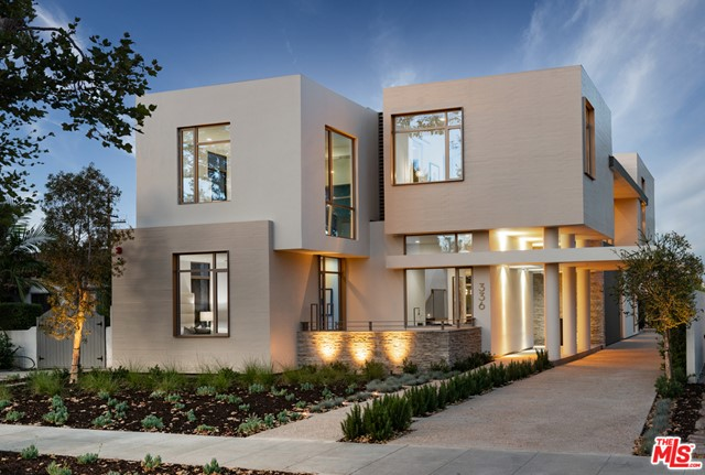 Exquisite! This 3-Story Architectural NEW CONSTRUCTION home features nearly 6000 sf of refined elegance. A property that encompasses ultimate personalization created for someone as individual as you. Inspired by the modernization movement featuring an open floor plan, a free facade, custom Fleetwood banded windows, floating columns and sun drenched pool terrace. Exceptional space planning proffers six bedroom suites connected by a spine of natural light in the delineated stairwell.  Luxury is transformative through the utilization of bespoke tile work, lighting, surfaces and touchpoints. Italian kitchen with Miele appliances is the height of understated design. Connecting all levels of this residence is an elevator providing ample access to the homes' amenities. Home theater offers an escape from the built environment in addition to various outdoor terraces for private reflection. Curated elegance defines this one-of-a-kind new generation of Beverly Hills luxury living.