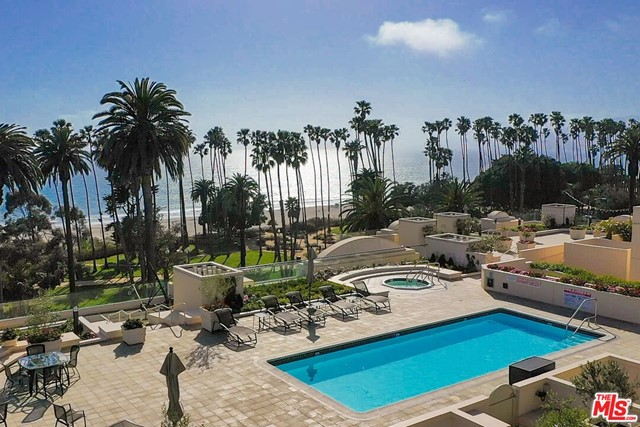 Once in a decade opportunity to own a 2009 Fully Designer Renovated over 3,000 ft, 3 bed/2.5 bath condo in North of Montana's most coveted 701 Ocean Ave Building which features a world class roofdeck with ocean view pool/spa/dining, 24/7 doorman, 4 gated parking spots, and luxe fitness center. Designed w/ the highest end finishes, and entertaining in mind, this light-filled open-concept 1-level condo is optimized for indoor/outdoor living and flow w/ approx 200 sq ft of private patio space overlooking serene Palisades ave and w/ ocean/sunset views. Upon entry, a stunning wide-open dining area w/ marble tile flooring and a built-in server is a perfect entertaining space that further leads to a beautiful & inviting living room w/a gas fireplace w/ limestone mantel. Pristine kitchen w/ Caesarstone countertops, Sub-zero refrigerator & Thermador range features plenty of storage & counter space, and a built-in breakfast nook/bar. Gorgeous Master is its own perfect retreat w/ an elegant fireplace seating, a private balcony, His and Her walk-in closets, and a fantastic master bath fully remodeled in 2017 w/ dual vanities, a soaking tub, large frameless glass shower and gorgeous porcelain tiling. Two additional warm and inviting bedrooms share a luxurious bath. Home also features a laundry room and so much more. Steps to the beach & Palisades Park!