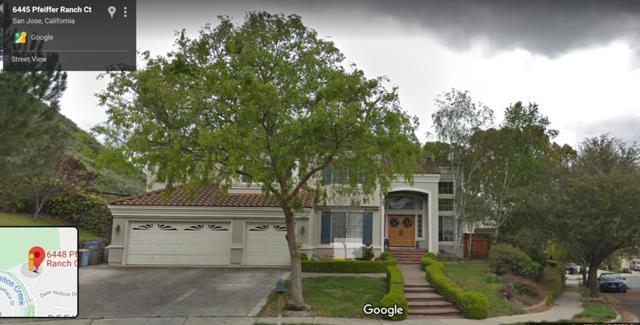 6448 Pfeiffer Ranch Court, San Jose, CA 95120