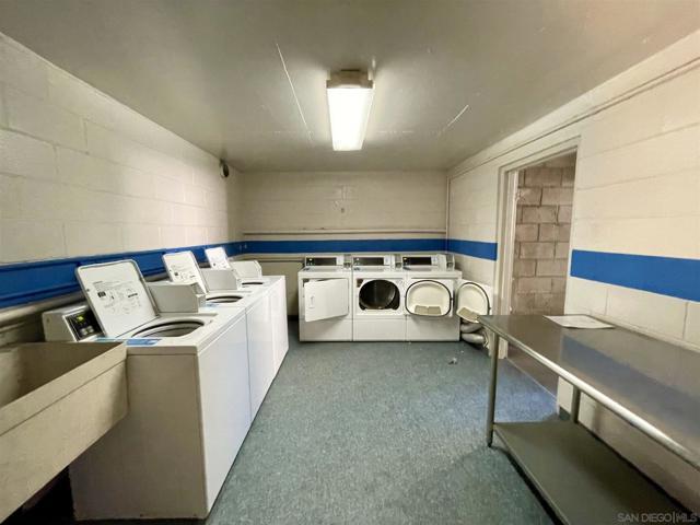 Common area laundry.
