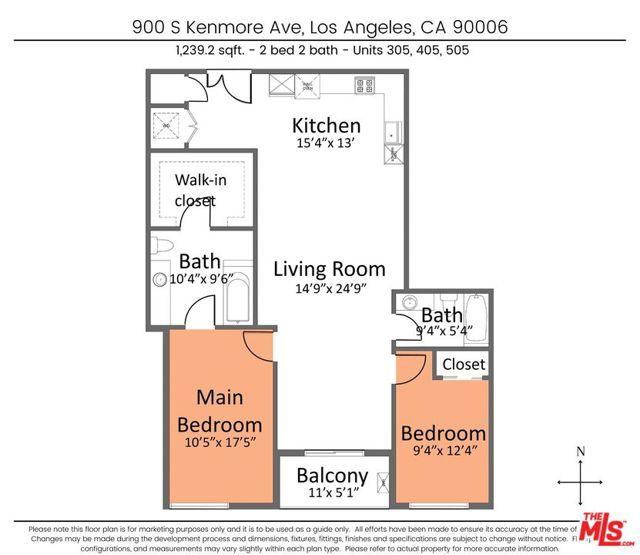 3. 900 S Kenmore Avenue #405 Los Angeles, CA 90006