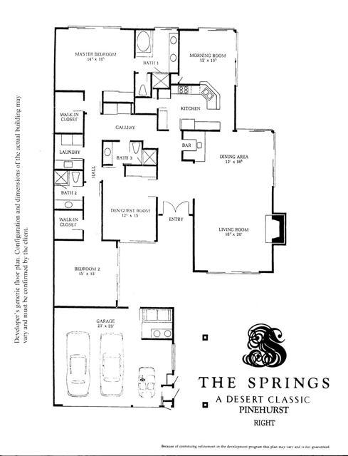 Floor Plan - Pinehurst