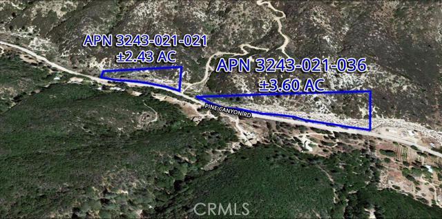 0 Pine Canyon Road, Lake Hughes, CA 93532