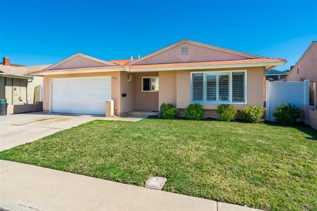 841 Saugerties Ave, San Diego, CA 92154