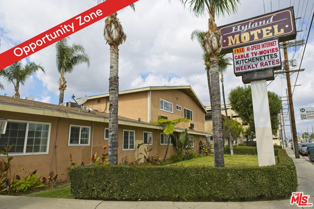 Presented for sale is a Motel and Apartment Building Portfolio in the center of the San Fernando Valley, just off the 405.  The Motel is at the NW corner of Sepulveda Bl & Vose St with over 100 feet of frontage on Sepulveda.  35 rooms at the Motel, inc. a Managers home, w/2 beds.  The Apartment Bldg, across from the Motel & one door down from Sepulveda, consists of six 1 bed + 1 bath units.  The properties are diagonally across the street from a shopping center anchored by JONS Marketplace, with CVS, Chase Bank, Bank of America and an under-construction Starbucks with a drive thru.  Average Daily Traffic at the Sepulveda & Vose intersection is 43,505. Take advantage of the available eyes driving by with a more modern and eye-catching sign.  And consider the future! The LA County Metro Transp. Authority is considering a Metro Station at Sepulveda & Sherman Way or the 405 - no decisions have been made, but Light Rail is likely coming to within blocks of this property! And the Sepulveda Pass Transit Corridor should connect the City of Santa Monica with the Van Nuys Metrolink Station, which will likely also have a stop for the East San Fernando Light Rail Transit Project.  The Motel and Apartment Building are currently vacant and being remodeled. Both properties are in the Qualified Opportunity Zone.  Transaction includes 2 APNs: 2222-032-003 & 2222-033-011