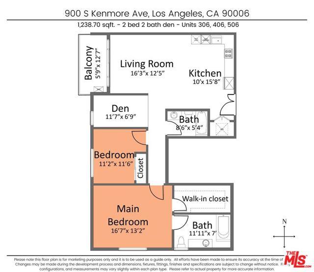 10. 900 S Kenmore Avenue #406 Los Angeles, CA 90006