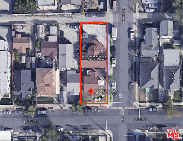 1187 E 40Th Place, Los Angeles, CA 90011