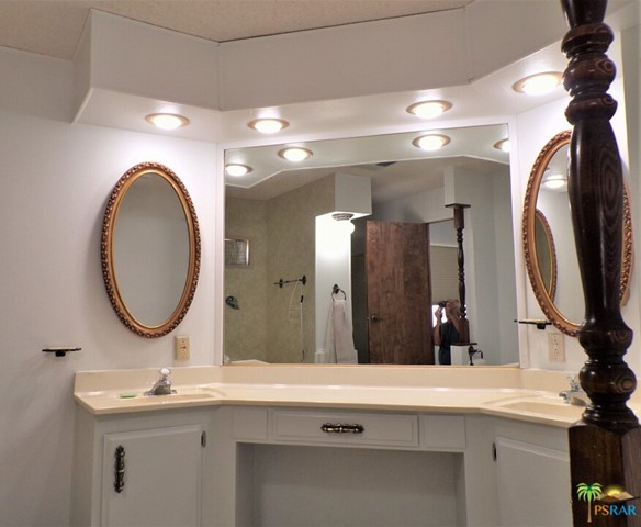 Dual Sinks & A Makeup Station Makes It Easy To Start Your Day
