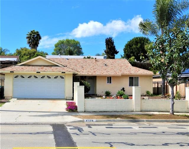 1726 Goodwin, Vista, CA 92084