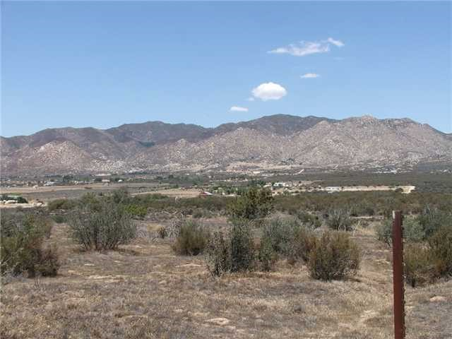 0 Montezuma Valley Road, Ranchita, CA 92066