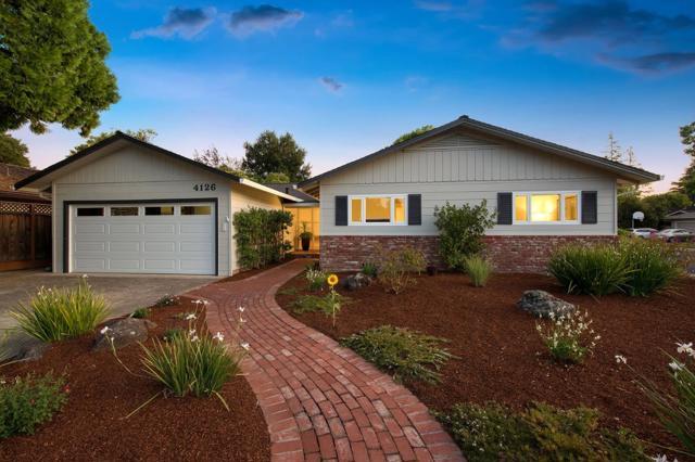 4126 Donald Drive, Palo Alto, CA 94306