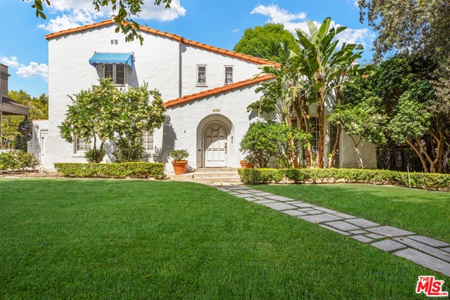 Located on a beautiful lot on one of Beverly Hills best blocks, the super prime 700 block of North Rodeo.  Classic 1920s Spanish style. Very charming and featuring all of its original details, hardwood floors, beamed ceilings, arches, 2 story entry, and a beautiful backyard. Incredible opportunity!!