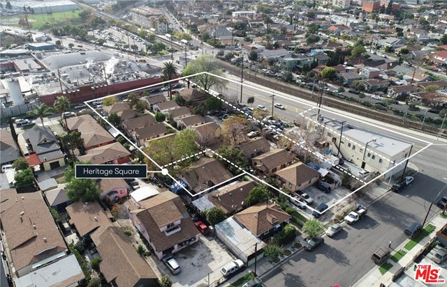 The Heritage Square Portfolio features 3614-3818 Pasadena Avenue, 106-114 E. Avenue 37 and 103-117 E. Avenue 36 and is comprised of 22 residential units and 3 commercial spaces on 51,492 SF of land. 106-114 E Avenue 37 and 103-117 E Avenue 36 is a 17 unit bungalow-style property sitting on four parcels totaling 38,583 SF of land. Of the 17 units, 15 of them are true bungalows with private entrances, no shared walls, side-yards and backyards. 3614-3618 Pasadena Avenue is a 12,433 SF lot zoned LARAS3. The property consists of three commercial spaces and five residential units that sit above the largest tenant, currently occupied by a garment manufacturer. All commercial tenants are on a month-to-month contract. The portfolio sits directly across the street from the Heritage Square Gold Line station and is eligible for Tier 3 TOC incentives.