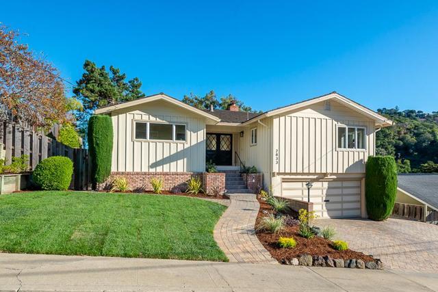 2833 Tramanto Drive, San Carlos, CA 94070
