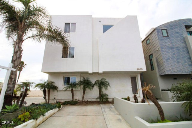Highly desired ocean front home on Hollywood Beach built next to an easement which allows for more expansive views of the water!  This 3 story, 3 bedroom/3 bathroom has ocean front decks on the 2nd and third floor for your viewing pleasure.  Home has 2 fireplaces, granite counter tops, stainless steel appliances with tile flooring in the kitchen and dining area.  Built in office area, two car garage with an extra parking spot on premises.