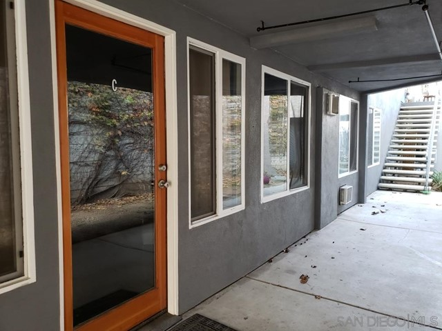 FOR LEASE 1ST FLOOR!!!  Prime Ocean Beach space one block to ocean.  This 2614sf est space is listed for $2.65/sf/mo plus complete NNN ($7500/mo base rent up to $9000/MO est).  Currently outfitted as a massage spa with esthetician services and retail.  Space has a reception area with sufficient space for retail and up to 3 waiting areas for clients.  Large 2614sf area includes 11 treatment rooms that range from as small as 55sf est rooms to 185sf est rooms.  Two restrooms for guests one located off reception area Suite A and the other off Suite C.  In center of space is a sizable employee kitchen/break area that has a dishwasher refrigerator & 2 utility sinks with retractable faucets.  Off break area is storage & washer and dryer hookups.  Appliances may or may not come with rental.  Current tenant may entertain selling business or even sharing 1/2 the space, but the entire 1st floor is available to rent.  A very unique opportunity for a live work space or great for medical use.  Parking is gated with one handicap space & one regular space assigned.  Residential units x3 above are rented. NOT FOR SALE!
