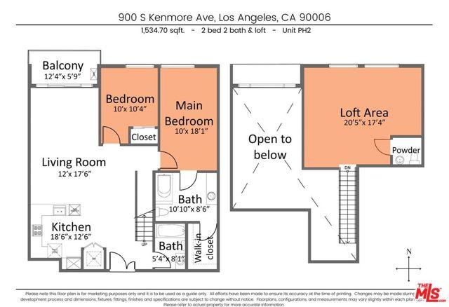 9. 900 S Kenmore Avenue #PH2 Los Angeles, CA 90006