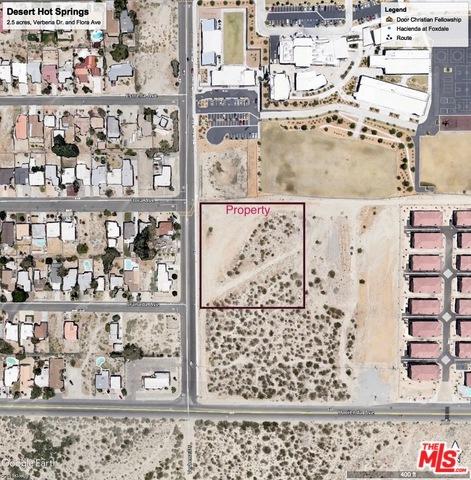 0 Verbena Drive, Desert Hot Springs, CA 92240