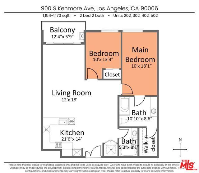 3. 900 S Kenmore Avenue #502 Los Angeles, CA 90006