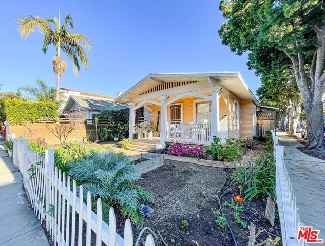 """JUST REDUCED! Property delivered vacant at COE. Great opportunity  to Build, develop or remodel your dream home on this perfect over-sized corner lot in prime Santa Monica """"Ocean Park """" location, seven blocks from the beach . The house is a classic 1912  charming bungalow with 3 bedrooms,1 bathroom, wood-burning brick fireplace, sunroom, garage/ carport. The property CURRENTLY TENANT OCCUPIED can possibly be delivered vacant after  6/21/2021 , inside with an accepted offer only , do not disturb tenants. Drive by only! call agent for more information. Bring your architect, builder, contractor and make an offer."""