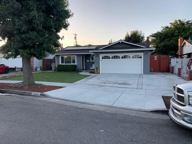 2419 Foxdale Drive, San Jose, CA 95122