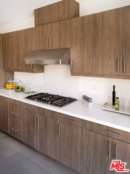 Kitchen storage and Counterspace