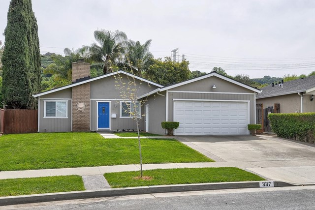 337 Vineyard Drive, San Jose, CA 95119