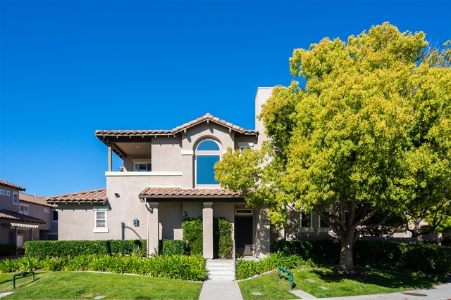 SELLERS ARE HIGHLY MOTIVATED! JOB TRANSFER! MUST MOVE! This end unit & beautifully maintained townhome is located close to Bressi Ranch town center, shopping, and the beach. Kitchen includes, SS appliances, granite counter tops, tile flooring.  Living area with new laminate flooring & a patio ready to enjoy your BBQ & outdoor living. Light & bright large master bedroom with walk-in closet, bath with dual sinks. Second bedroom with ensuite bathroom and balcony. Upstairs laundry, Attached 2 car garage.  This townhome is located in the Rancho Carrillo Master complex in the townhome section of Valencia. Valencia has it's own pool area, but homeowners are also able to use the Master complex pool area. Rancho Carrillo prides itself on providing privacy for each homeowner and community activities where you can get to know your neighbors..  Neighborhoods: Rancho Carrillo Village A Complex Features: ,,, Equipment:  Dryer,Garage Door Opener, Washer Other Fees: 107 Sewer:  Sewer Connected Topography: LL