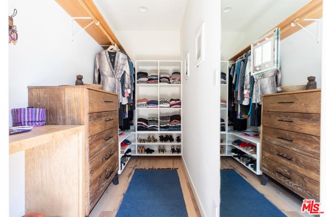 Main suite walk in closet