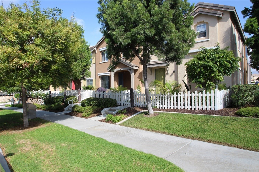 Beautiful home upgraded with Granite Counters and tile flooring. 3 beds 2-1/2 bath. Front facing unit with comfortable yard on a tree lined street. Expansive park and HOA amenities just 3 homes down and across the street with basketball court, resort like Pool, volleyball court and BBQ.  Walking distance to desirable Veterans elementary and Mater Dei schools. Minutes to Otay Ranch Mall, Otay Lakes Recreation area and the Olympic Training Center. Only about 20 minutes to Downtown San Diego and Coronado.  What a great Home ! 3 beds , 2-1/2 bath. Lots of natural light. Stainless steel finish appliances, high quality cabinets and upgraded tile flooring in the kitchen and living room give this home an elegant feel. This is a front facing unit with no neighbor directly in front of you on a tree lined street. Feels much more like a detached home. You will find an open park just a couple houses down and across the street with a basketball court and kids play area. Great place for the family to hang out, have a picnic and play. Next to the park os the HOA pool and volleyball court. There is an olympic size pool along with a childrens for for the little ones. Otay Ranch Mall is just a couple minutes away with shopping, fine dining and a movie theater. Enjoy the outdoors, bike riding and fishing at the Otay Lakes recreation area just a couple miles down the street along with the Olympic Training Center.  Amazing home in an amazing community !.  Neighborhoods: Otay Ranch Other Fees: 45 Sewer:  Sewer Connected