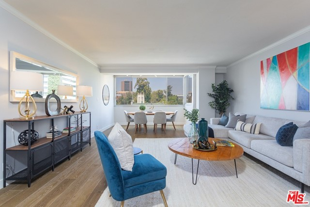 Enjoy city views from every window in this light & bright corner condo. Located in a premiere luxury high-rise in the heart of Westwood Village  moments away from Target, Trader Joes and an abundance of restaurants & shops. Features: 2 bedrooms, 1-bathroom, large living room/dining area with high ceilings, remodeled kitchen with granite and stainless-steel appliances, remodeled bathroom, brand new wide-plank hardwood floors, new lighting and new AC with Nest thermostat. This luxury high-rise includes valet guest parking, 24-hour lobby attendant, onsite manager, beautiful heated pool / spa. Owner pays for water, sewer, trash and basic cable. Minimum 1-year lease.