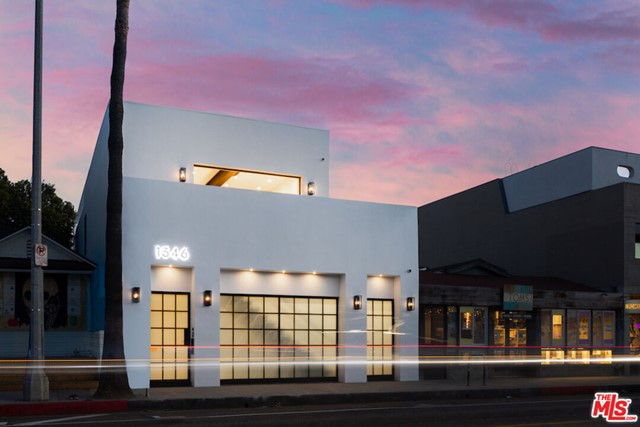 Located in the most prominent tech hub in LA, introducing 1346 Abbot Kinney Blvd, a live+work concept steps from Venices hottest boutiques, galleries, and dining. With security at the forefront, this space features soundproof reinforced steel walls, bulletproof glass, and separate controlled access to the residence and workspace. Thoughtfully designed to enhance productivity and creativity the workspace boasts an executive office, a conference area, two designated secondary offices, and an oversized lounge. The residence includes a primary suite with a spa bath, 2 additional bedrooms, a sleek kitchen, and a terrace that overlooks iconic Abbot Kinney. The home utilizes advanced AI technology, including Josh.ai that can control the opening of doors and skylights above as well as lowering your BENQ laser projector from your ceiling.  Truly a unique offering, 1346 Abbot Kinney defines a new way to live and work seamlessly.  The fourth bedroom is currently being used as a private office.