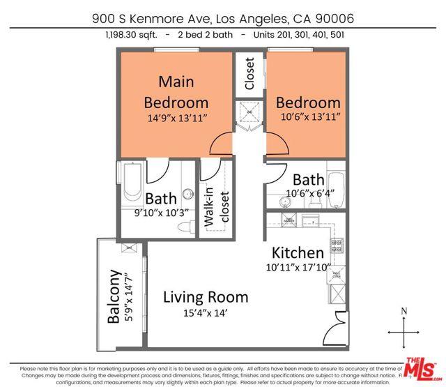 10. 900 S Kenmore Avenue #401 Los Angeles, CA 90006
