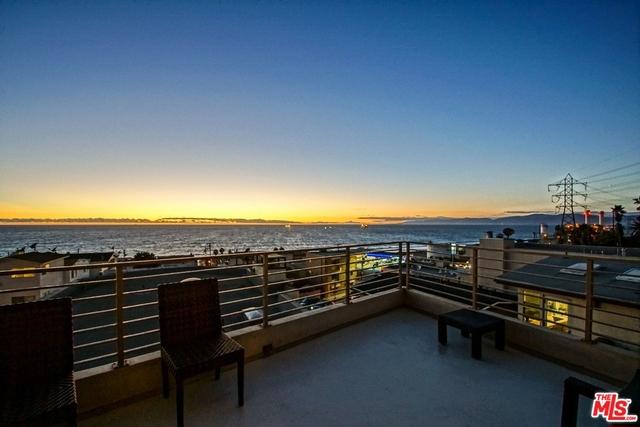 Sunset on Living Room Deck