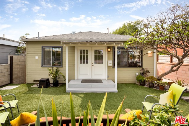 Incredible opportunity to own a charming duplex on an idyllic tree-lined street in Venice. This lovely property has an inviting front yard and is in the perfect location - close to restaurants, shops, and the ocean. Enjoy leisurely bike rides to the beach and delicious meals at the many amazing eateries on Abbot Kinney and Washington boulevard. The light-filled, updated two-bed, front unit is 850 square feet with an ample storage loft and a lush front yard perfect for entertaining. The updated, 1 bed, rear unit is 591 square feet with its own private outdoor space. This duplex has a full-size two car garage and three outdoor parking spaces. Additional updates include copper plumbing, landscaping, roof, gutters, insulation, and much more. Ideal for owner-users to supplement their California lifestyle as well as for developers, investors, multigenerational families, and a live/work environment. This property is definitely a must see.