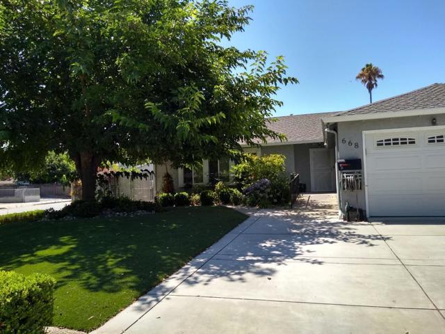 668 Choctaw Drive, San Jose, CA 95123