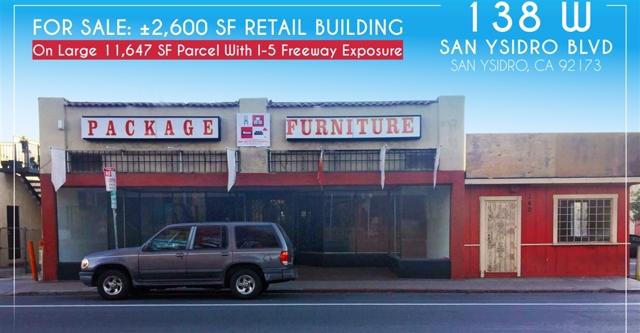 138 W San Ysidro Blvd, San Ysidro, CA 92173