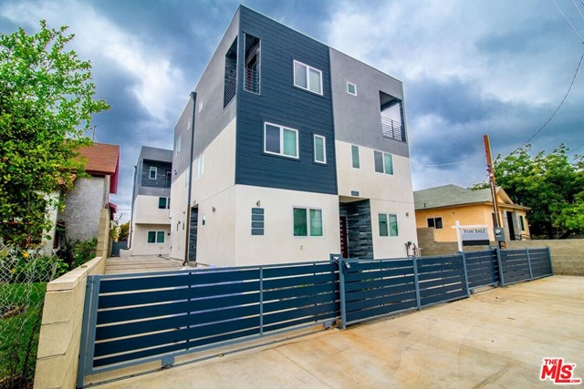 Welcome to 1625  S New Hampshire! Built 2019, This beautiful modern newer 4 Bed+ 4 Bath+ Balcony+ 2 car private garage with direct access, 1,700 square feet of living space , 3 story building is located in prime mid-city Korea town, just minutes from LA Downtown, USC 10-15 min, Freeway 10, 110, and 5 10-15 min. Walking distance to many restaurants, shop and much more! You can take a Bus or Uber to work. All units are EACH BEDROOM HAS OWN PRIVATE BATH! Guest bedroom on the 1st floor and bathroom. Laminated floor, Two-toned interior painting, Fully-equipped pass-through kitchens, Custom cabinets, Stainless Steel appliances (Oven/Range, Dishwasher, Refrigerator) , in-unit Washer & dryer, Central HVAC, Custom window shade! Master bedroom with walking closets, Open floor plan with Recessed lights, Laundry inside unit, Automatic remote control! Balcony! The listing property is one of the 4-plex unit ! Garage is fitted for small car.