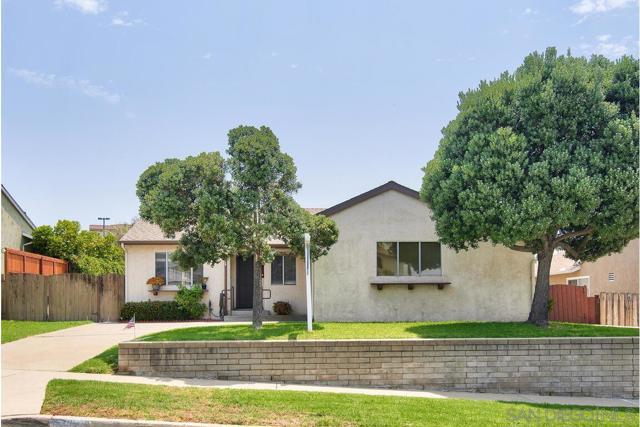 6. 5235 Guessman Ave. La Mesa, CA 91942