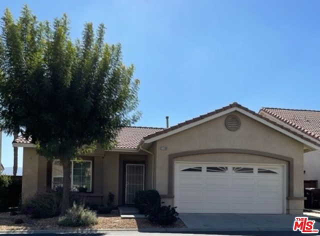 You have to come see this Serrano Del Vista (55+ active adult community) single story beauty nestled in the foothills of the San Gorgonio Mountains . This well kept move in ready home features a large kitchen/dining room, great living room with fireplace for cool nights, 3 bedrooms, 2 bathrooms and painted in inviting tranquil colors. The backyard has a nice patio and views for entertaining family and friends. Serrano Del Vista offers: club house, gym, pool/spa and tennis. Close to Freeway, shopping and Palm Springs for world class shopping and dining. Low HOA's and No Mello Roos.